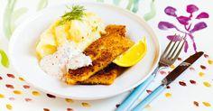 Vegansk fisk på mannagryn