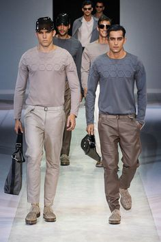 Emporio Armani Spring 2014 Menswear Collection