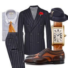Today on Manolo.se - We pay tribute to the excellent elegance of Boardwalk Empire which recently came to an end after five seasons. Mens Fashion Suits, Mens Suits, Fashion Outfits, Sharp Dressed Man, Well Dressed Men, Father And Son Clothing, Boardwalk Empire, Gentleman Style, Classic Outfits