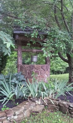 The wishing well in which little Godfrey II and the Zinn's pet monkey Pip drowned, not a year after the death of Mr. Rumford.