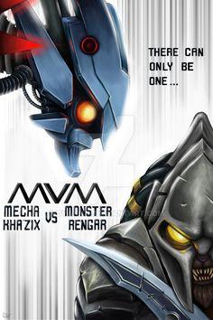 Mecha VS Monster - qyan ly  DYANNAI VERBON by Dyannai