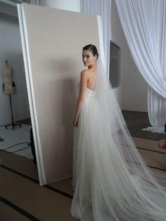 Lindo vestido simples e romântico.
