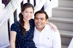 Mike & Thu: Engaged!   Photog blog #longbeach #engaged #couple Shoreline Village