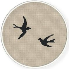 Trendy nail art ideas for winter stitches Ideas Cross Stitch Bird, Counted Cross Stitch Patterns, Cross Stitch Designs, Cross Stitching, Cross Stitch Embroidery, Embroidery Patterns, Filet Crochet, Canvas Template, Diy Broderie