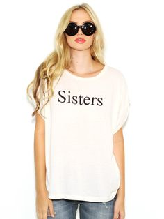 Wildfox Sisters Boy T In Vintage Lace - Boutique To You
