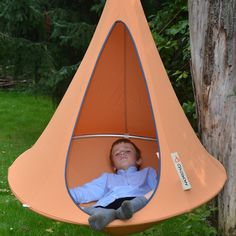 too cute I definitely want a cacoon bonsai kids hammock for the backyard http://hammocktown.com/products/cacoon-bonsai-red