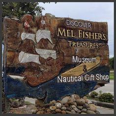 Mel Fisher's Treasures on Who me, run?: Greetings from the Treasure Coast!
