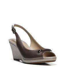 Naturalizer Women's Oleander Medium/Wide/X-Wide Wedge Shoes (Bronze Leather)