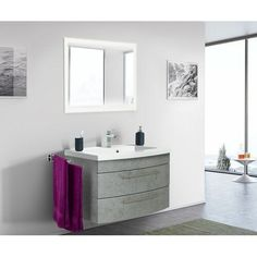Holli 820mm Bathroom Furniture Suite with LED Mirror Ebern Designs Furniture Finish: Grey#820mm #bathroom #designs #ebern #finish #furniture #grey #holli #led #mirror #suite Basement Furniture, Bathroom Furniture, New Furniture, Furniture Design, Lavabo Design, Bathroom Vanity Units, Bathroom Cabinets, Led Mirror, Quality Kitchens