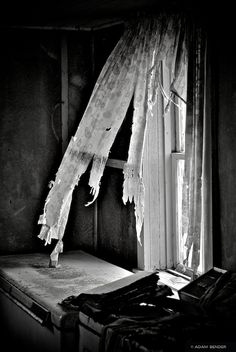more stories anyone?  can you hear the gentle flap of the tattered curtains?  the stories are all in there, my friend.....