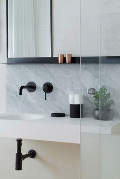 Modern Bathroom Design, Bathroom Interior Design, Restroom Design, Modern  Bathrooms, Tel Aviv