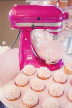 Hot Pink Kitchen Appliances