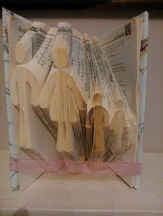 Book Folding Pattern Package Family 5 PATTERNS by BevsCraftLoft