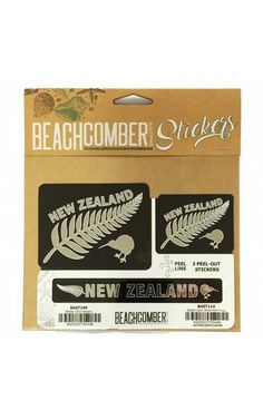 Silver Fern, New Zealand, Separate, Stickers, Fun, Gifts, Outdoor, Outdoors, Presents