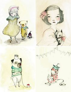 Beauty, Art, Illustration, Creativity, Layout, Sketchbook, Inspiration, Hand-Drawn, Colour