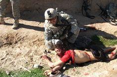 Античеловеческое поведение США в Афганистане и Ираке