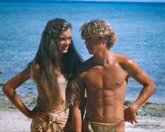 The Blue Lagoon - Publicity still of Brooke Shields & Christopher ...