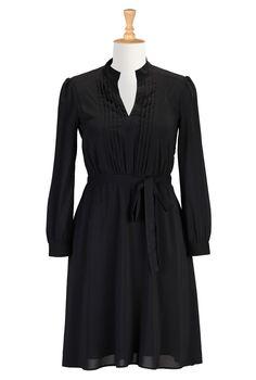 Little Black Dress With Stretch, Crepe Dresses For Fall Shop women's fashion clothes, party dresses, plus size evening dresses, elegant dres...79.95