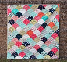 Jaime's Glam Clam Quilt | Fancy Tiger Crafts