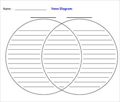 10 Best Venn Diagram Template Images Venn Diagram Template