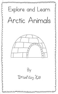 Free Winter Arctic Animal Emergent Reader for Kindergarten and First Grade Starting Kindergarten, Kindergarten Science, Teaching Kindergarten, Winter Fun, Winter Theme, Verona, Artic Animals, Animal Activities, Preschool Activities