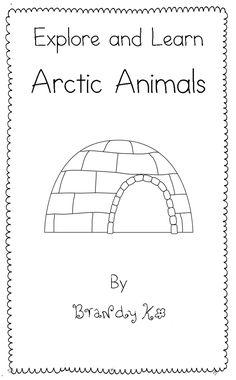 Kick Starting Kindergarten: Arctic Animals Emergent Reader FREEBIE!