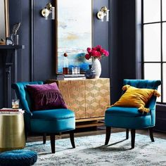 Home Interior Velas .Home Interior Velas Living Room Decor Collections, Afro Chic, Colourful Living Room, Bohemian Living, Bohemian Homes, Elle Decor, Living Room Designs, Accent Chairs, Interior Design
