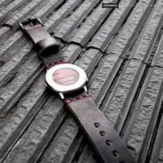 Premium leather straps for your beloved pebble time round Pebble Time Round, Wearable Device, Watch Faces, Vegetable Tanned Leather, Cool Designs, Bands, Accessories, Vintage, Band Memes