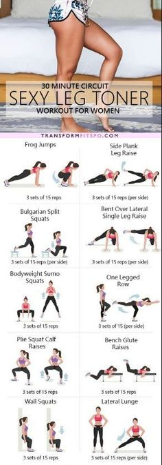 cool The ultimate sexy leg toner lower body circuit workout – Ever Well Women...