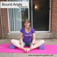 bound angle with blocks 2