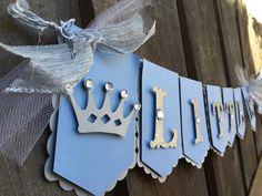 Little Prince banner royal theme banner silver/light blue with crowns photo prop first birthday, gender reveal baby shower Baby Birthday Themes, Prince Birthday Party, Baby Boy First Birthday, Boy Birthday Parties, Prince Party, Baby Shower Images, Boy Baby Shower Themes, Baby Shower Gender Reveal, Baby Boy Shower