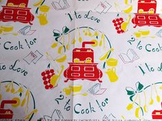 Vintage Tie Tie Products 1 To Love 2 To Cook by CindysCozyClutter