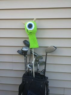 Mike Wazowski Golf Club Cover Monster's Inc. Mike