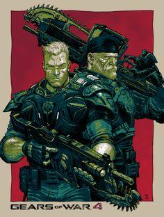 Gears of War 4 - Tony Moore, Colors: Rico Renzi