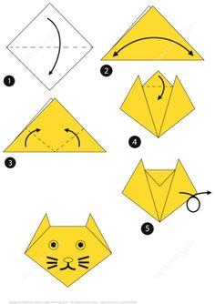 Origami Cat How To Origami Cat How To Easy Origami For Kids. Origami Cat How To Origami Cat. Origami Cat How To Origami Cat Vector Image 1817845 Stockunlimited. Origami Cat How To Origami Cat Time Lapse. Origami Cat How To… Continue Reading → Origami Ball, Chat Origami, Instruções Origami, Design Origami, Origami Paper Folding, Origami Dragon, Origami Fish, Origami Butterfly, Paper Crafts Origami