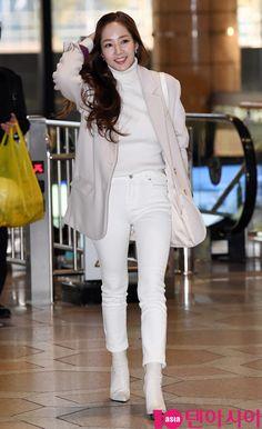 Kpop Fashion, Girl Fashion, Airport Fashion, Womens Fashion, Song Seung Heon, Man Lee, Park Min Young, Ji Chang Wook, Korean Actresses