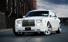 Rolls Royce Phantom White #CarFlash
