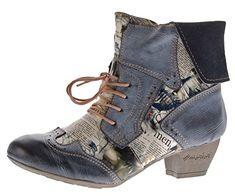 TMA Damen Stiefeletten Echtleder Comfort Boots Leder Halb Schuhe TMA 6188 Schwarz Gr. 36 - http://on-line-kaufen.de/tma/36-eu-tma-damen-stiefeletten-echtleder-comfort-gr-2