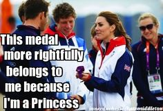 And Princesses get it all (The Inner Duchess of Kate Middleton)