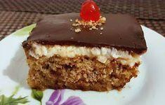 ΜΑΓΕΙΡΙΚΗ ΚΑΙ ΣΥΝΤΑΓΕΣ: Καρυδόπιτα με κρέμα και γλάσο σοκολάτας !!!