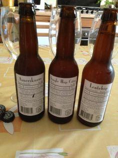 Three special beer from De Molen Brewery