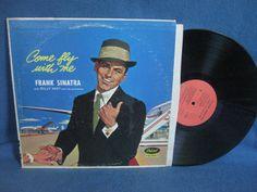 Vintage Frank Sinatra  Come Fly With Me Vinyl LP by sweetleafvinyl
