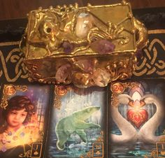 February 13th:  Lenormand Universal Day Spread:  Day:  13: Child Day + Month: 13 + 2 = 15: Bear Day + Month + Year: 13 + 2 + 9 (2+0+1+6) = 24:  Heart Child:  Jack of Spades:  Fire Bear: Ten of Clubs:  Air Heart: Jack of Hearts:  Water Child: Positive Bear: Neutral Heart:  Positive Message: In the cards I see you thinking about something new (child) in regards to diet and nutrition (bear), which could result in caring and happiness (heart). Go to:  dnaprofilesapp.com/lenormand #annewalner…