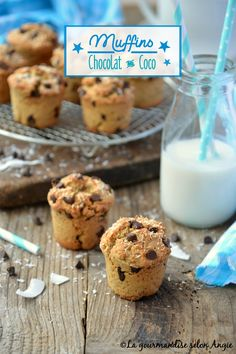 Muffins choco/coco #vegan