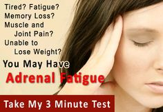 Adrenal Exhaustion by Dr. Lam on Adrenal Exhaustion