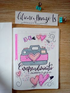 Discover recipes, home ideas, style inspiration and other ideas to try. Filofax, Bullet Journal School, School Notebooks, Kawaii Doodles, Cute Notes, Decorate Notebook, Bullet Journal Inspiration, Journal Pages, Journals