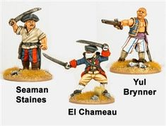 Crusader - CCP001 - Sea Dogs - Yul Brinner, El Chameau, Seaman Staines