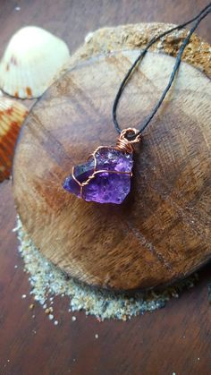 Check out this item in my Etsy shop https://www.etsy.com/listing/471824689/amethyst-crystal-necklace-amethyst