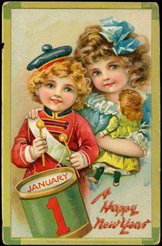 Happy New Year Children.