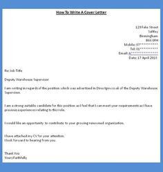 How To Write A Letter Of Interest For A Job Unique Professional Cover Letter Writing  Cover Letter  Pinterest